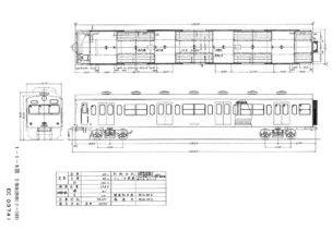 クハ103図面イメージ